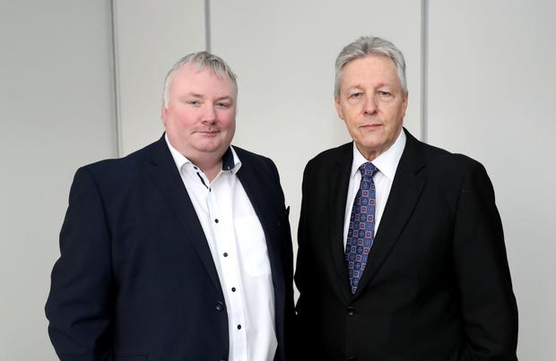 Talk time: Stephen Nolan and Peter Robinson on The Top Table