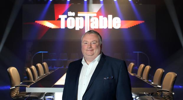 Host of The Top Table Stephen Nolan