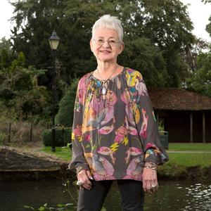 Write on: Dame Jacqueline Wilson at home in Hertfordshire
