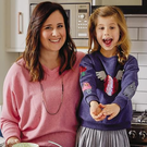Food for thought: Ciara Attwell and daughter Aoife get busy cooking a healthy and delicious meal