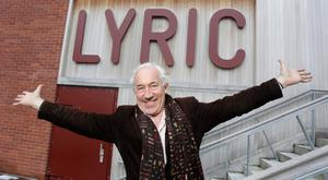 Centre stage: Simon Callow at the Lyric Theatre in Belfast