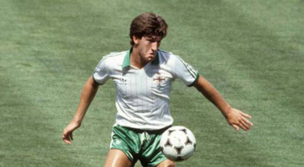 Young star: Northern Ireland's Norman Whiteside holds the record for the youngest ever player