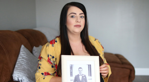 Sinead Mullan, whose husband Shaun was killed while cycling in November