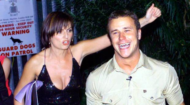 Davina McCall with Craig Phillips on Big Brother