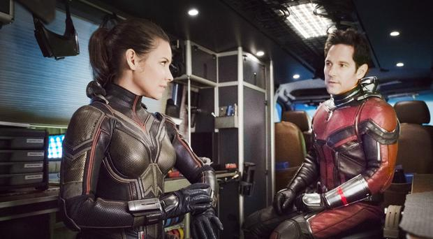 Little wonders: Evangeline Lilly and Paul Rudd in Ant-Man and The wasp