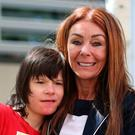 Billy Caldwell with mum Charlotte, who has taken on the world to save her son