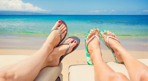 Summer airing: it's time to get your feet out