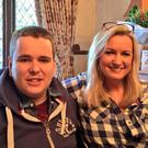 Care concerns: Mark Dobson with mum Jo-Ann