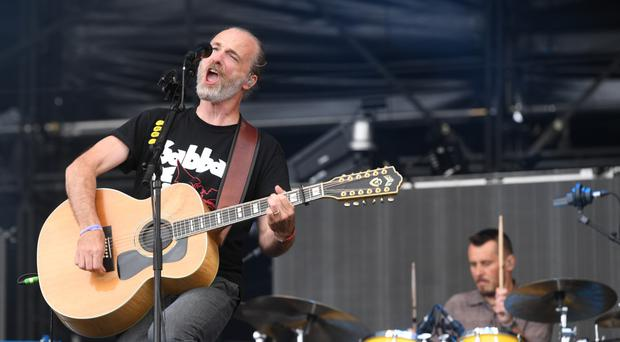 In focus: Fran Healy and his band Travis are the subject of a new documentary