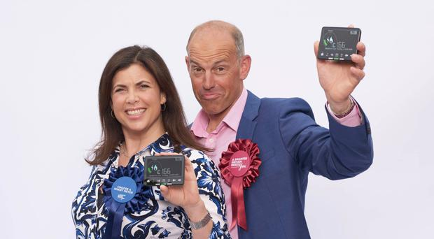 Smart move: property experts Kirstie Allsopp and Phil Spencer kick off their meter campaign