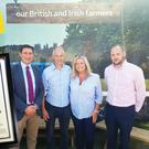 Great rewards: John Dobson (second left), with wife Jo-Anne, picked up his award at the Great Yorkshire Show in Harrogate