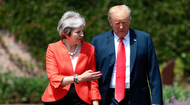 Looking ahead: Brexit and Donald Trump (right, with Theresa May) are new factors for superforecasters