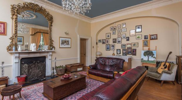 Erganagh House is a stunning property at the foot of the Sperrins