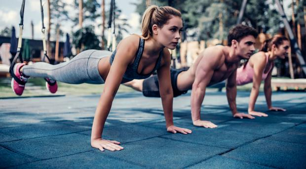Innovative exercise: TRX training used in the correct way is a total body workout