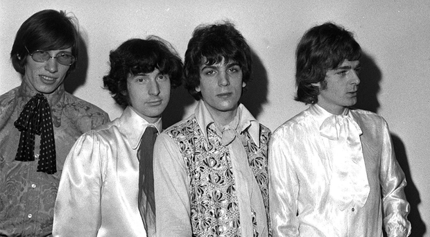 Trail-blazers: Pink Floyd in 1967 (from left) Roger Waters, Mason, Syd Barrett and Rick Wright