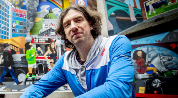 Staying strong: Gary Lightbody in Belfast