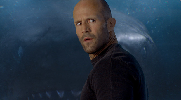 Big splash: Jason Statham's diving background made him a perfect fit for the role of Jonas Taylor
