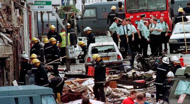 Bomb horror: the aftermath of the Omagh explosion