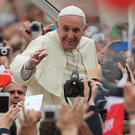 Pope Francis who will visit these shores next Saturday