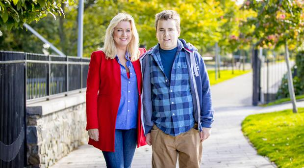 Lucky patient: Mark received a kidney from his mother, Jo-Anne