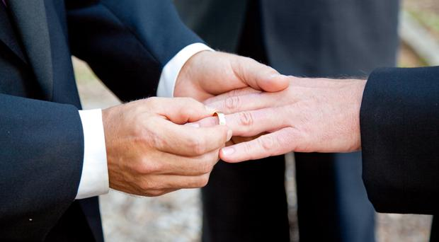 Same-sex couples denied the opportunity to marry in Northern Ireland are being subjected to