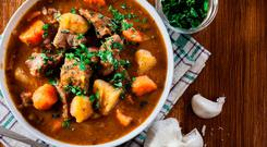 Global hit: Irish stew is now a favourite all around the world