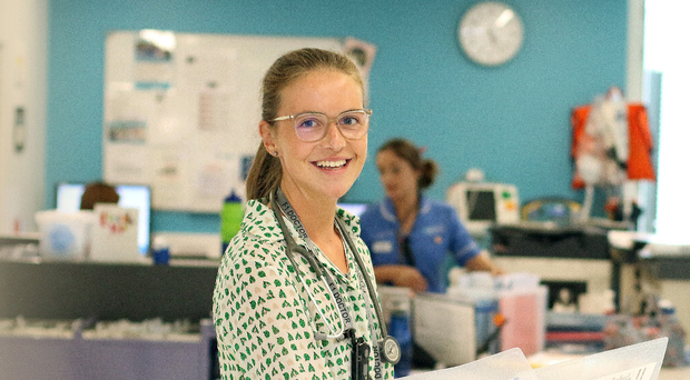 Dr Molly Kerr at the Ulster Hospital in Dundonald