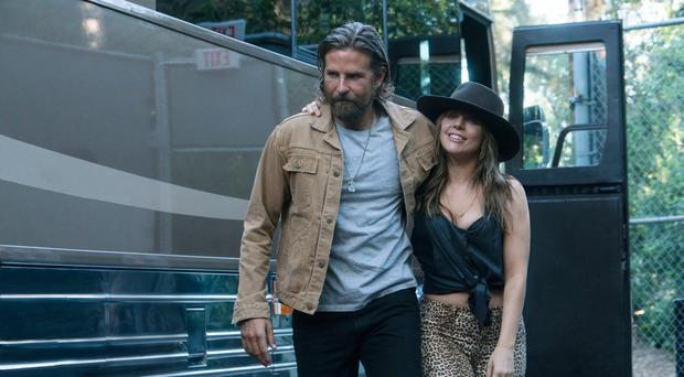 Stirring tale: Bradley Cooper and Lady Gaga in A Star Is Born