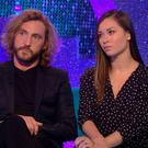 TV apology: Seann Walsh with Strictly dance partner Katya Jones