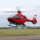 The air ambulance on a flight (stock)