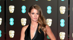 Online support: reality star Millie Mackintosh has been encouraged by the response to her story on Instagram