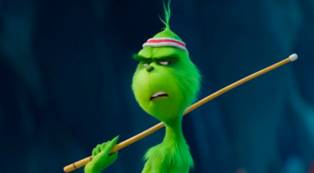 Speak easy: Benedict Cumberbatch adopts a convincing American accent in his latest role as The Grinch