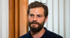 Fading trend: Jamie Dornan has loved to sport a beard