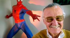 Super hero: Stan Lee, who created troubled comic book characters like Spider-Man, was loved by millions of kids with their own problems