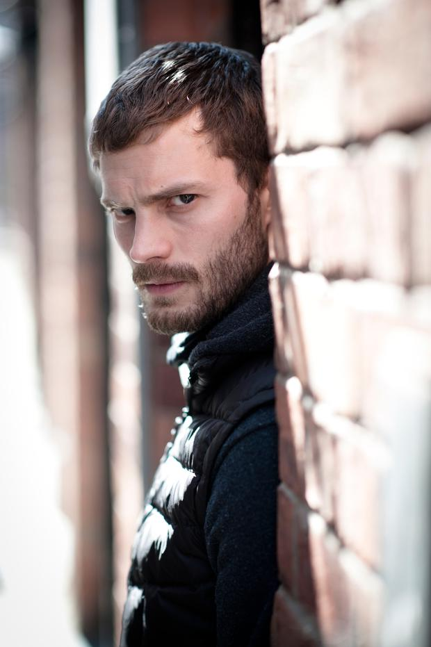 Jamie Dornan says he loves working with Allan Cubitt who cast him as Paul Spector
