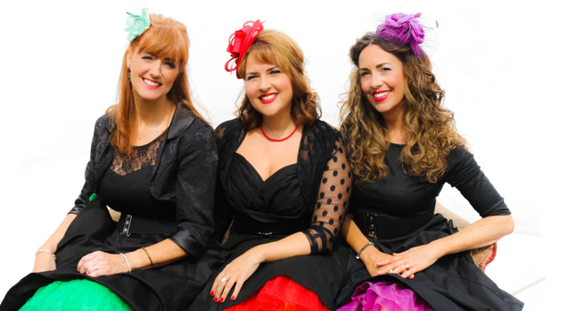 Centre stage: The Leading Ladies Lynne McAllister, Michelle Baird and Ceara Grehan