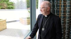 Reflecting on faith: Archbishop Richard Clarke grew up in a Church of Ireland rectory