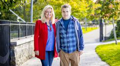 New freedom: Mark Dobson with mum Jo-Anne