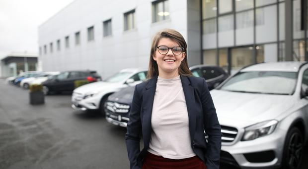 Breaking barriers: Amy McMillan, works for the Agnew Group in Belfast