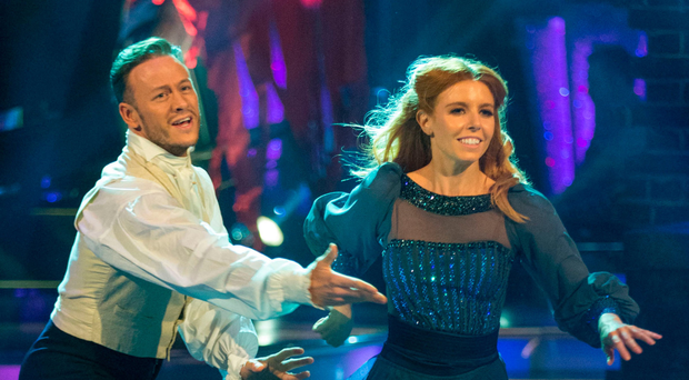 Highs and lows: Stacey Dooley with Kevin Clifton