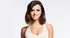 Fitness fan: Lucy Mecklenburgh