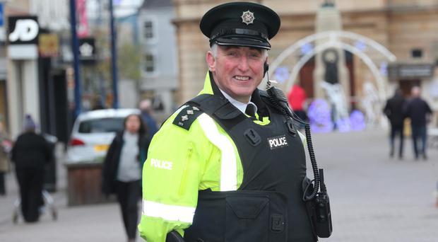 All dressed up: PSNI Chief Inspector Ian Magee