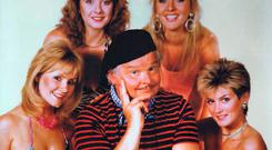 Dodgy hit: Benny Hill topped the 1971 Christmas chart with Ernie