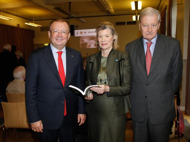 The Abercorns with Dr Alexander Yakovenko, Russian Ambassador to the UK