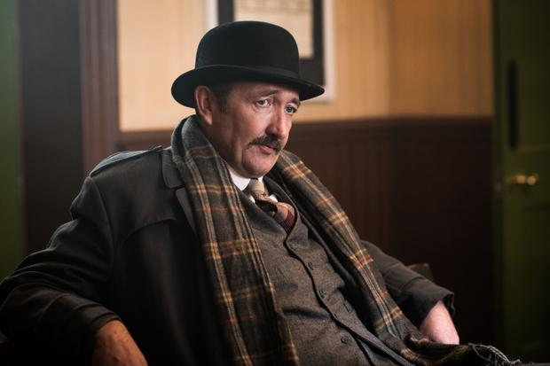 Ralph Ineson in the show