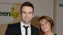 Louise Dunlop with her son William