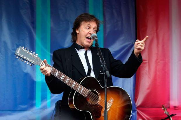Get back: Paul hit the road again this year after releasing a new album
