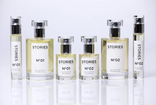Scent-sational: Stories No 01 and No 02 perfumes, designed by Tonya