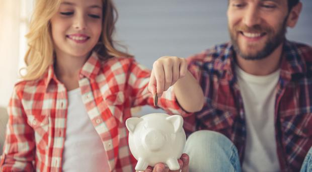 Parents often play a part in their children's money habits