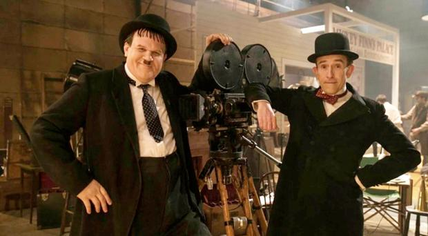 John C Reilly and Steve Coogan as the comedy legends